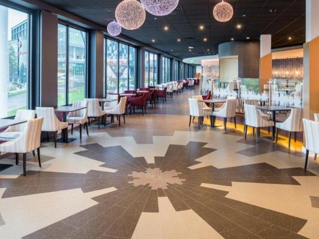 Flooring installation at Genting Arena Birmingham