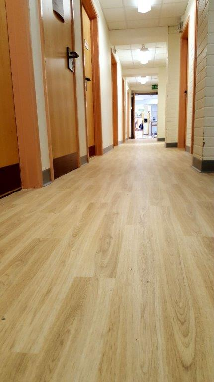 Flooring Installation at the Breast Care Unit, Musgrove Park Hospital