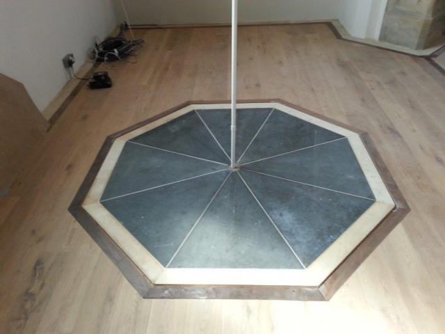 Flooring Installation at St Benedict's Church, Glastonbury